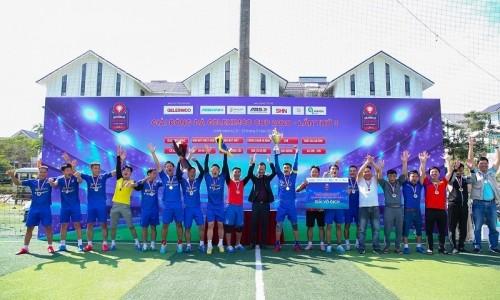 Nhà máy Giấy An Hòa vô địch Giải bóng đá Geleximco Cup 2020