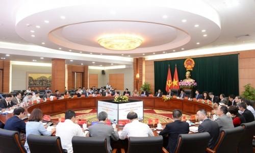 Tập đoàn Geleximco làm việc với lãnh đạo Thành ủy Hải Phòng