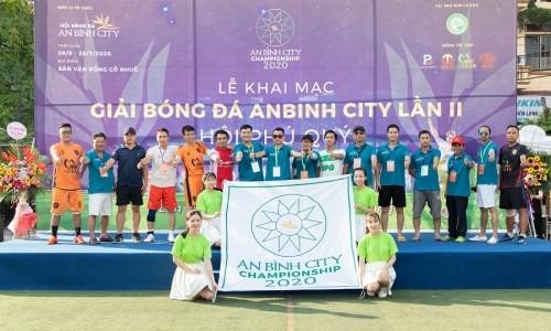 Lễ khai mạc Giải bóng đá An Bình City lần thứ II