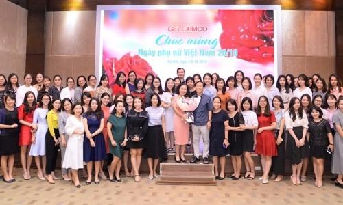 Tập đoàn Geleximco chào mừng Ngày phụ nữ Việt Nam 20 -10
