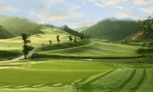Sân golf Geleximco Hilltop Valley Golf Club - Hòa Bình