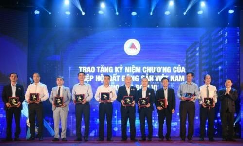 Tập đoàn Geleximco được biểu dương về những đóng góp cho sự phát triển của thị trường BĐS Việt Nam