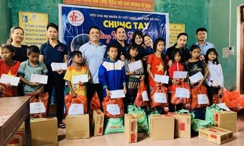 Geleximco hỗ trợ hàng chục tỉ đồng cho người nghèo và người dân vùng lũ lụt miền Trung