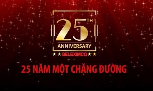 GELEXIMCO - 25 năm hình thành và phát triển
