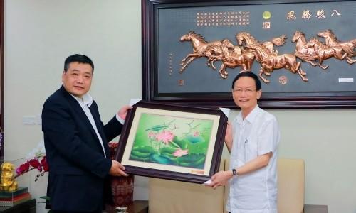 Tập đoàn Geleximco tiếp đón doanh nghiệp hàng đầu Trung Quốc