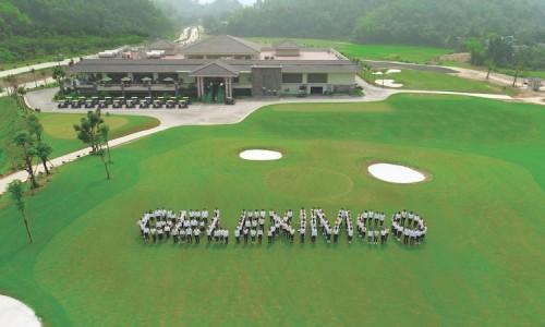 Đoàn cán bộ Tập đoàn Geleximco thăm  Sân Golf Hiltop Valley - Hòa Bình