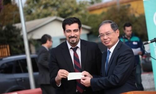 Tập đoàn Geleximco tài trợ dự án tu sửa công viên Hồ Chí Minh tại Chile