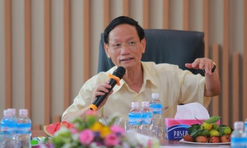 Hình ảnh đoàn lãnh đạo Tập đoàn Thăm và giao lưu tại Quảng Ninh