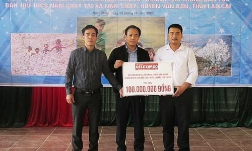 Tập đoàn Geleximco đồng hành cùng chương trình thiện nguyện