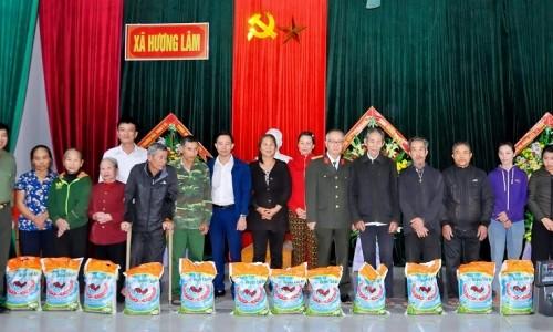 Geleximco chia sẻ những thiệt hại sau lũ với bà con vùng cao Hà Tĩnh