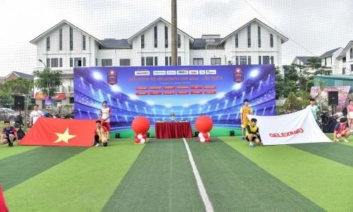 Khai mạc Giải bóng đá Geleximco Cup 2020