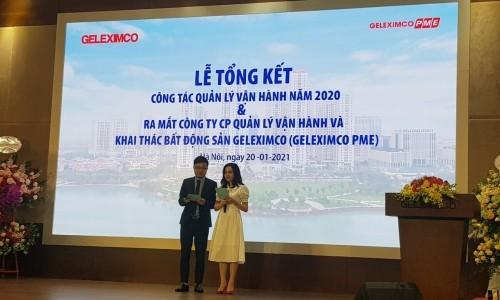 Tập đoàn Geleximco tổng kết Công tác Quản Lý vận hành năm 2020 và ra mắt Công ty Geleximco PME