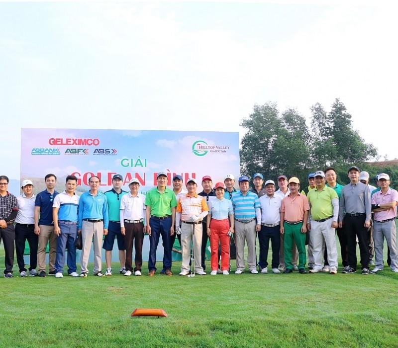 Sôi động Giải Golf An Bình – Giao lưu hè 2019