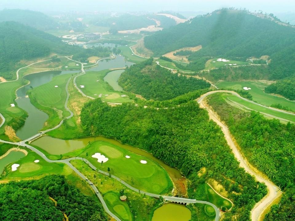 Khai trương Geleximco Hilltop Valley - sân golf độc đáo bậc nhất Việt Nam