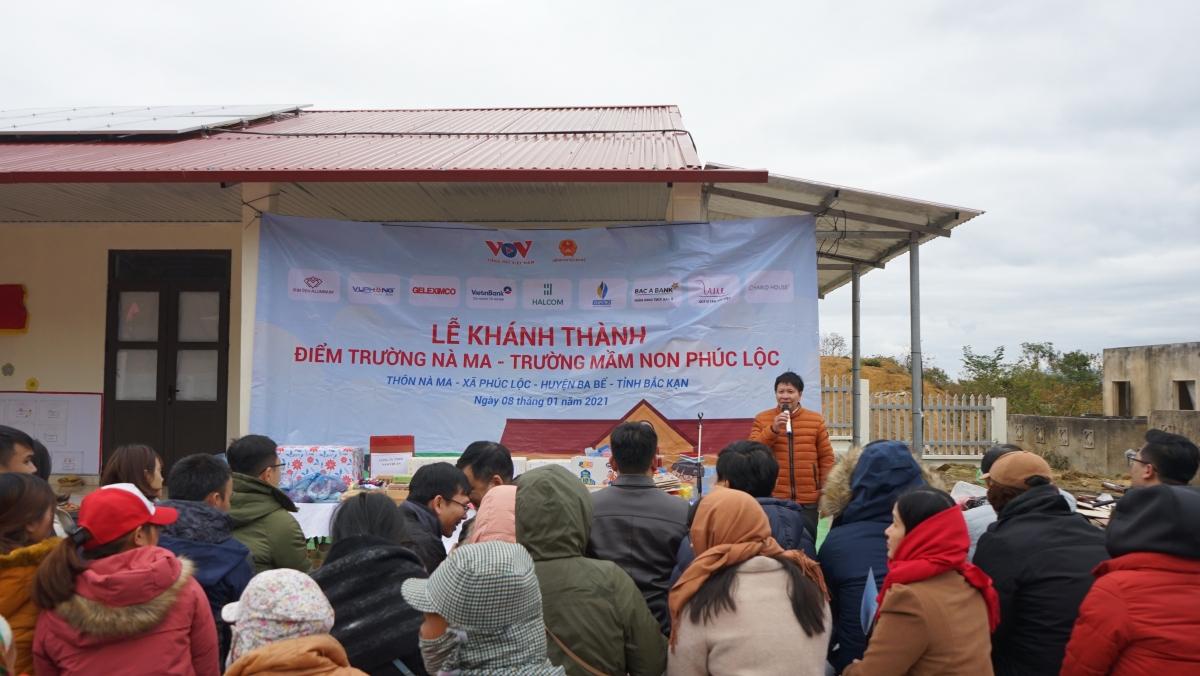 Tập đoàn Geleximco chung tay xây dựng điểm trường Nà Ma, huyện Ba Bể (Bắc Kạn)