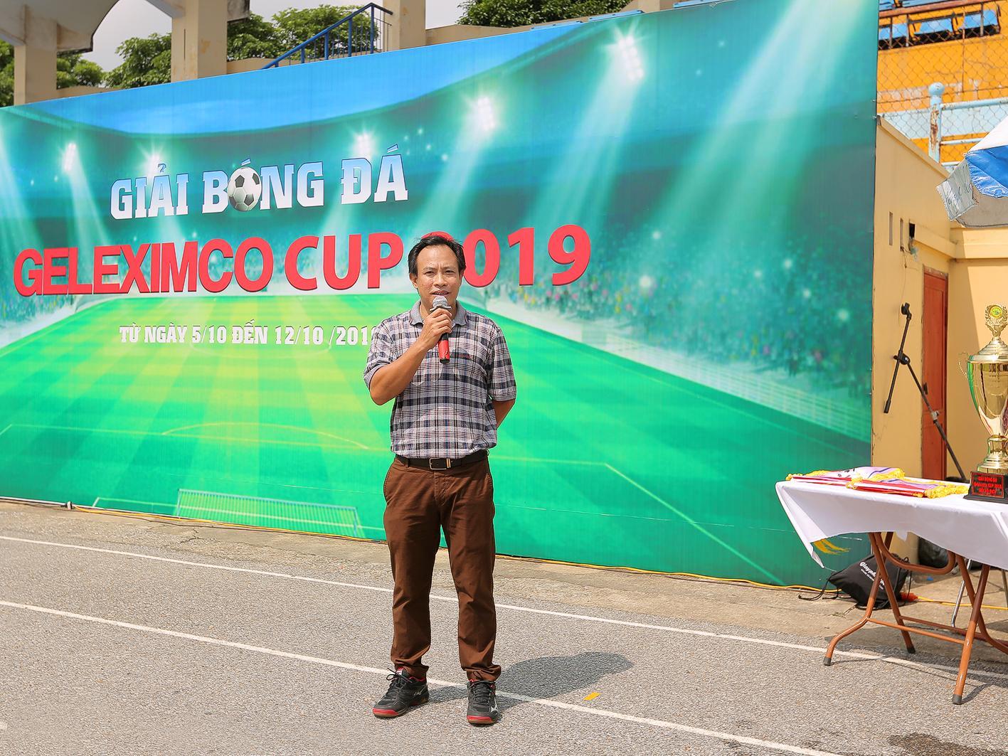 Ông Trịnh Xuân Quang - Trưởng ban tổ chức giải phát biểu tại Lễ bế mạc và trao giải.