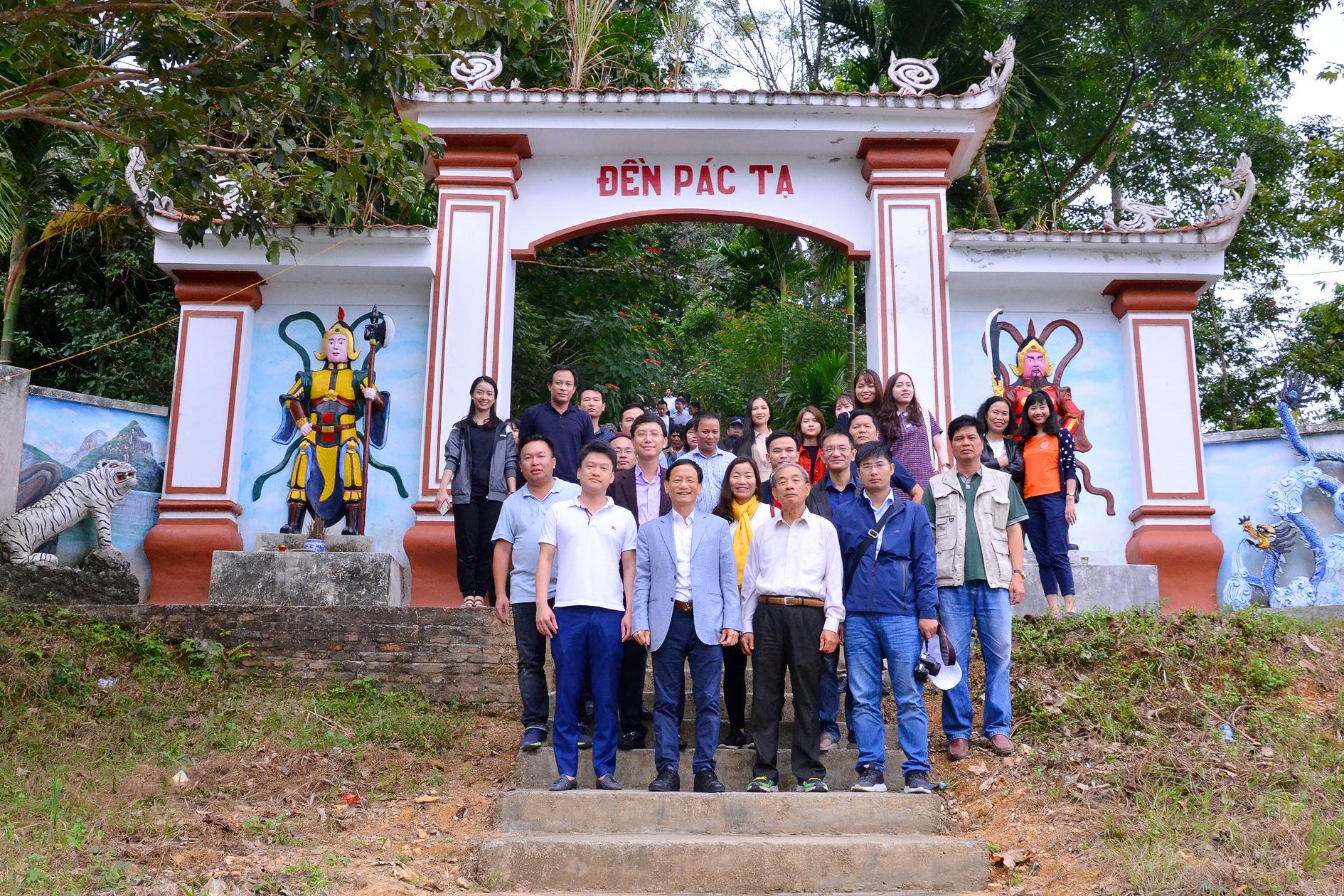 Đoàn công tác Tập đoàn Geleximco làm việc tại Tuyên Quang