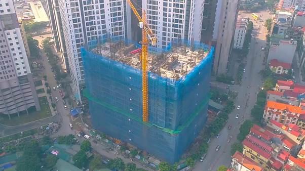 Dự án chung cư An Bình Plaza đang triển khai tại Mỹ Đình, Hà Nội.