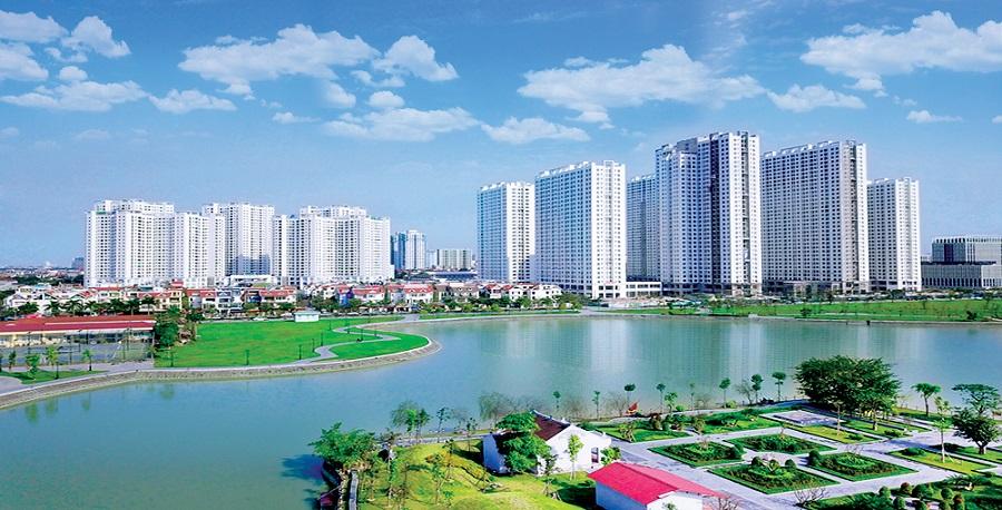 Khu đô thị Thành phố Giao lưu.