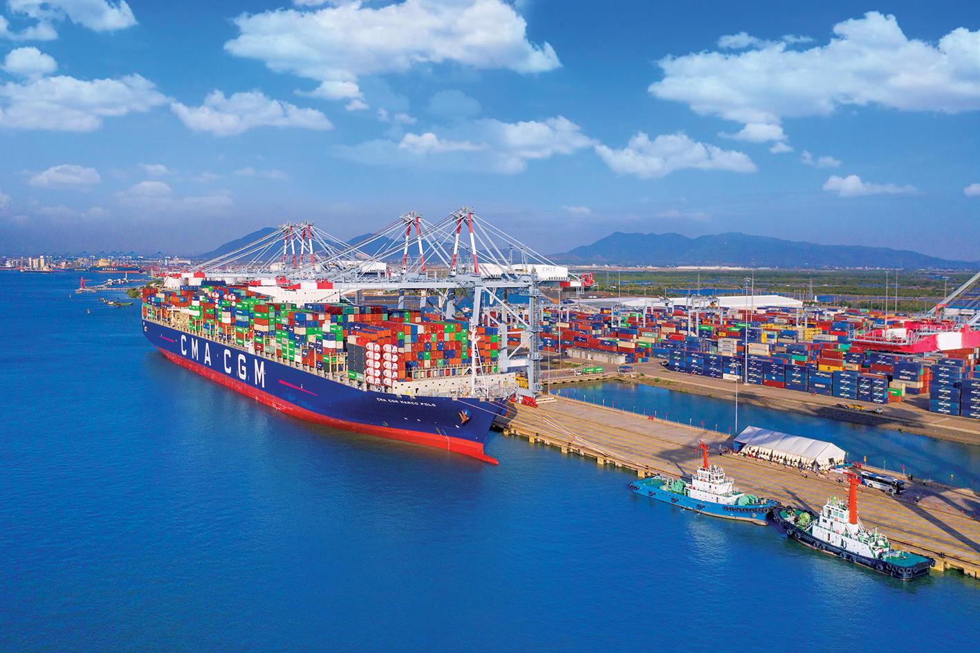Trung tâm Logistics và Cảng tổng hợp container Cái Mép Hạ