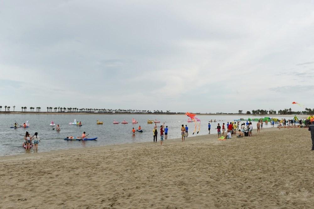 Bãi biển nhân tạo - Dragon Đồ Sơn