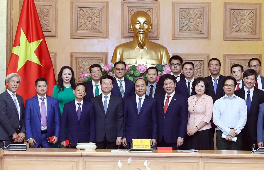 Thủ tướng gặp mặt các doanh nghiệp tiêu biểu thuộc Ban IV và YPO