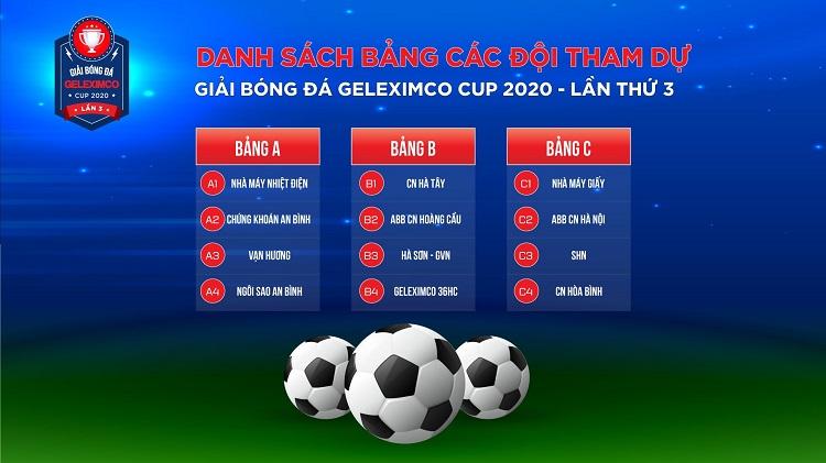 Giải bóng đá Geleximco Cup 2020 – Lần thứ ba