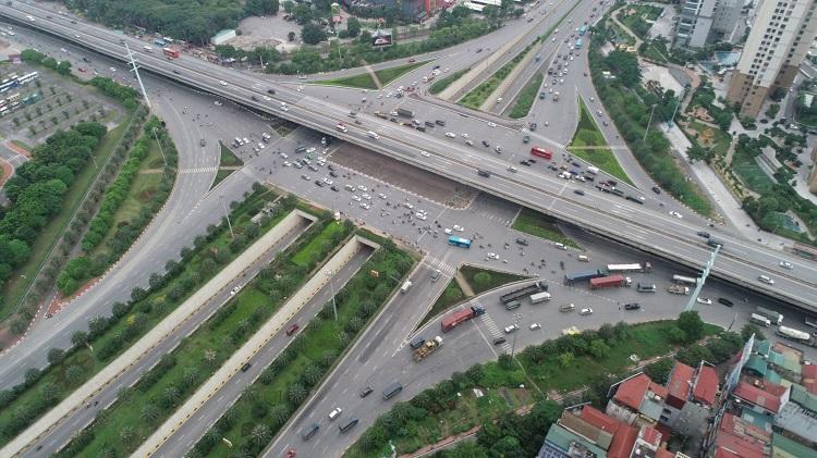 Hạ tầng giao thông phía Tây.
