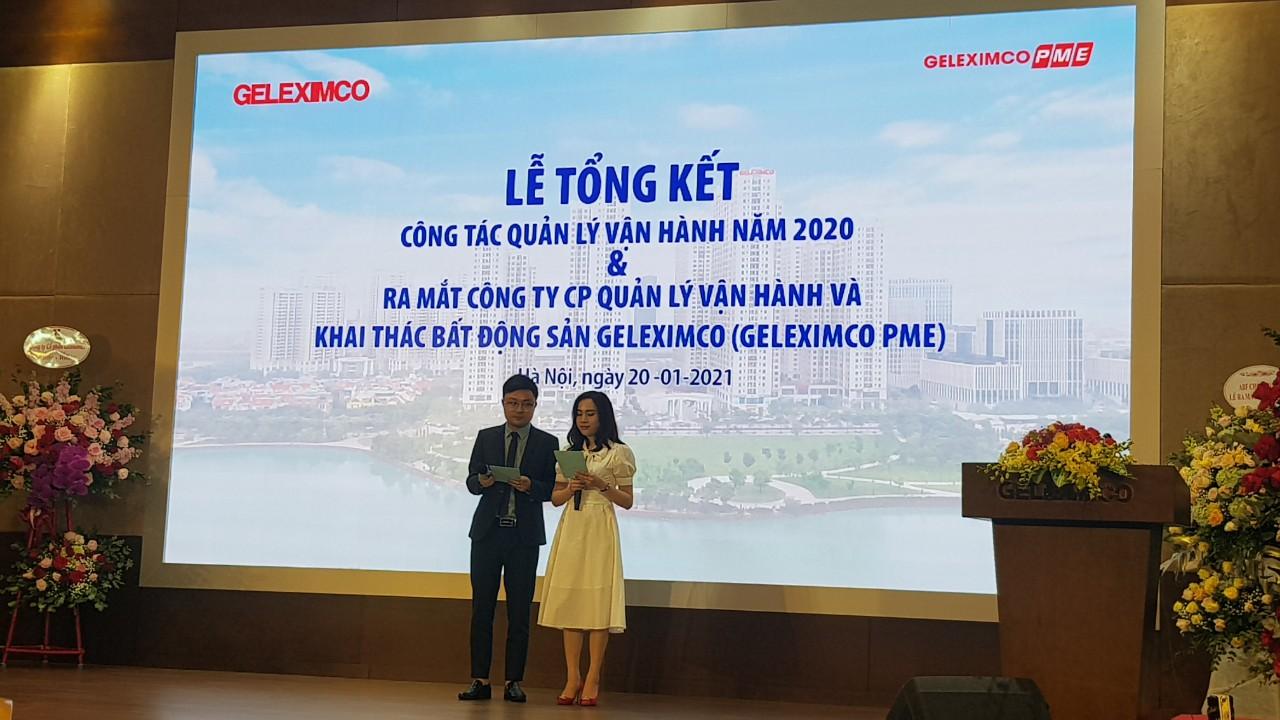 Tổng kết Công tác Quản Lý vận hành năm 2020 và ra mắt Công ty Geleximco PME