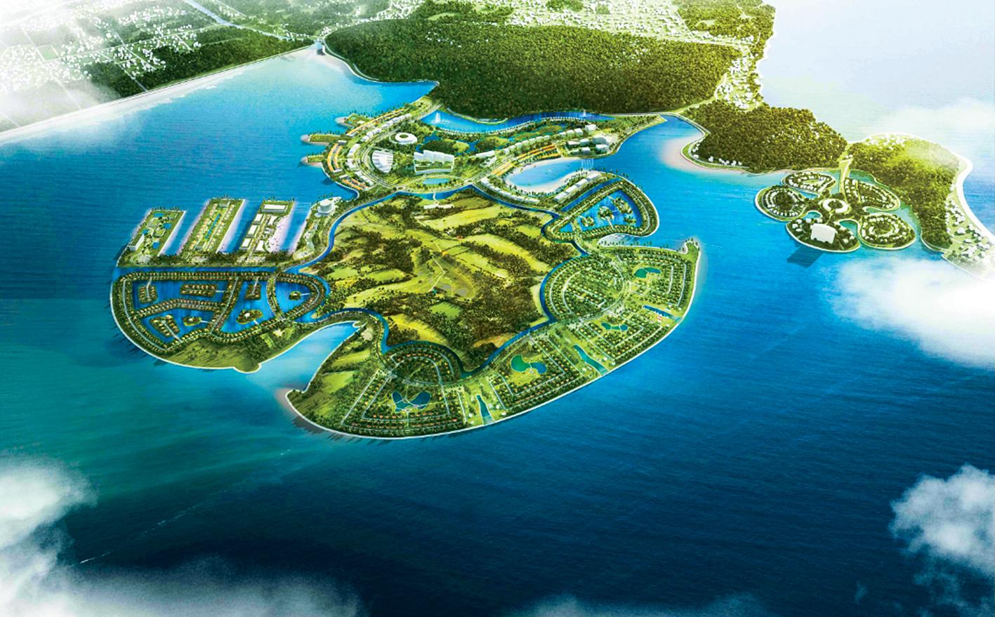 Dự án Khu du lịch Quốc tế  Đồi Rồng (Hải Phòng)